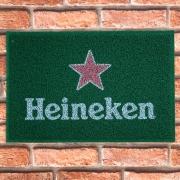 Capacho Personalizado Antiderrapante Heineken Beek
