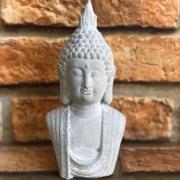 Estatueta Buda Decorativo de Cimento