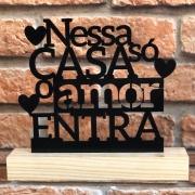 Enfeite Letreiro Decorativo de Mesa Frases