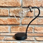 Luminária Decorativa LED Geométrica de Metal