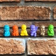 Mini Buda Colors Resina