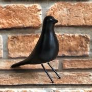 Pássaro Decorativo em Pé de Porcelana