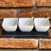 Petisqueira de Porcelana 7 peças
