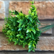 Pick Planta Artificial Verde 6 Galhos