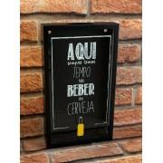 Porta Tampinhas Cerveja