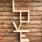Prateleira Nicho Decorativa Love