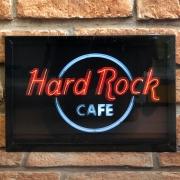 "Quadro Decorativo Looks ""Hard Rock Cafe"""
