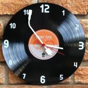 Relógio de Parede MDF Beek Disco de Vinil