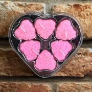 Velas Decorativas Love 6 un