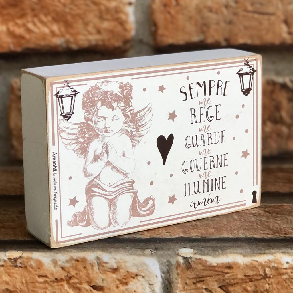 Box Decorativo Santo Anjo