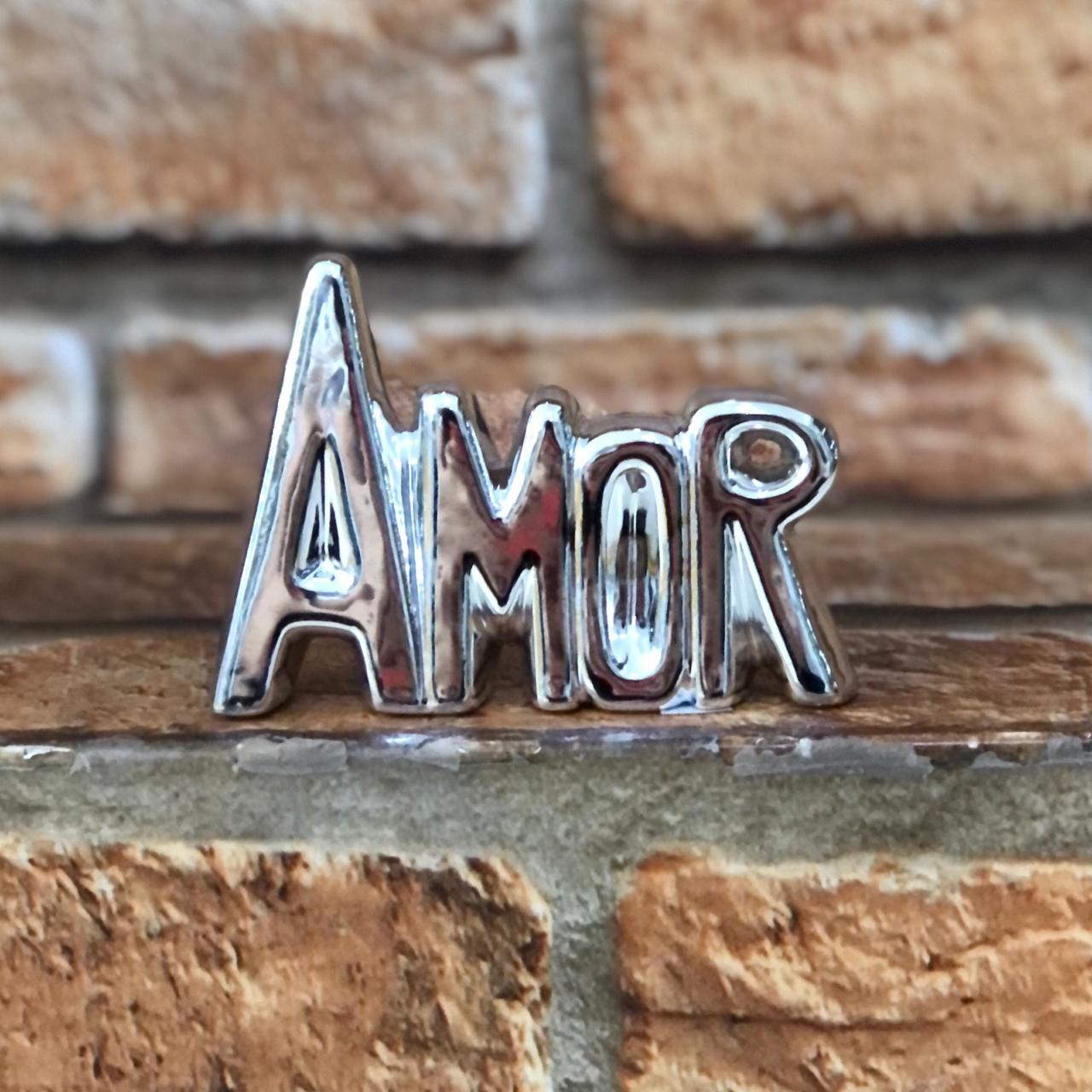 Enfeite Decorativo Palavra Amor  P