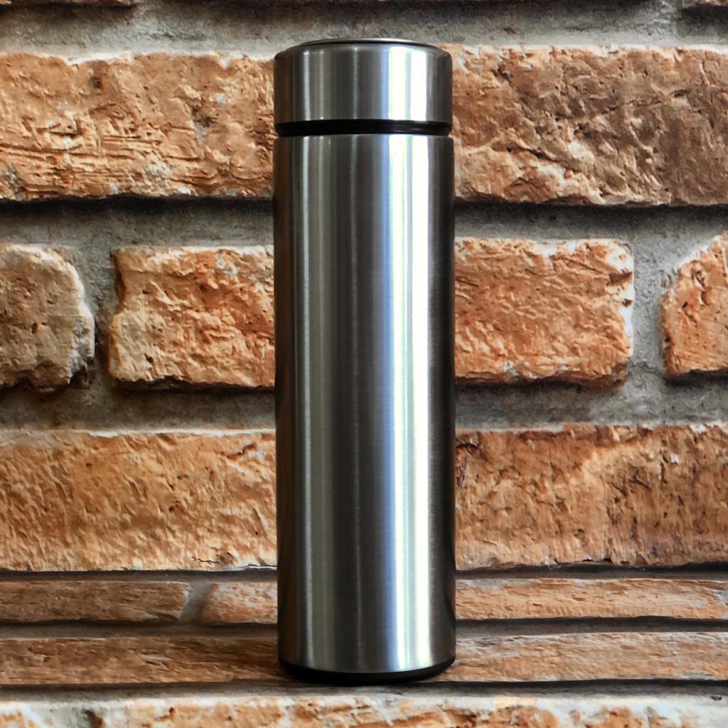 Garrafa Térmica 470ml com Filtro de Chá Cores