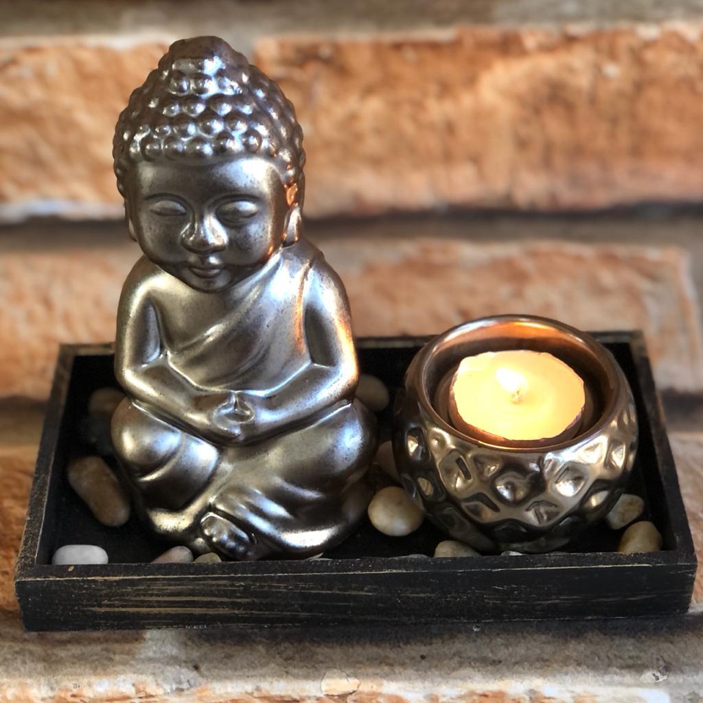 Jardim Zen Decorativo Retangular Paz