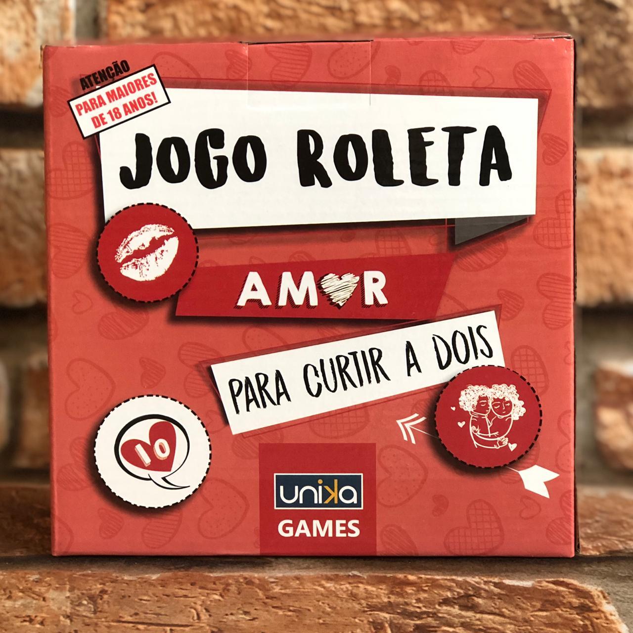 Jogo de Shots Roleta Amor