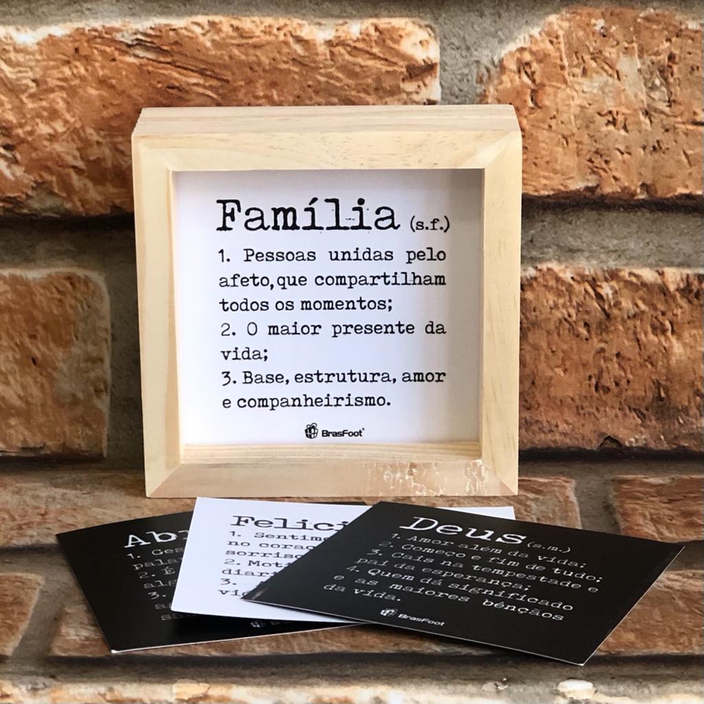 Kit Inspiração Quadro Cards de Mensagens