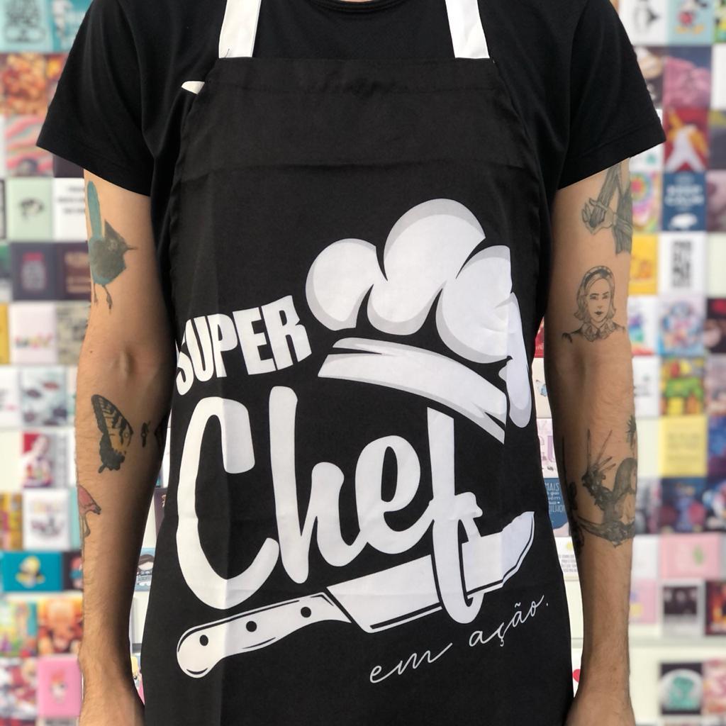 Kit Super Chef em Ação Avental + Taça