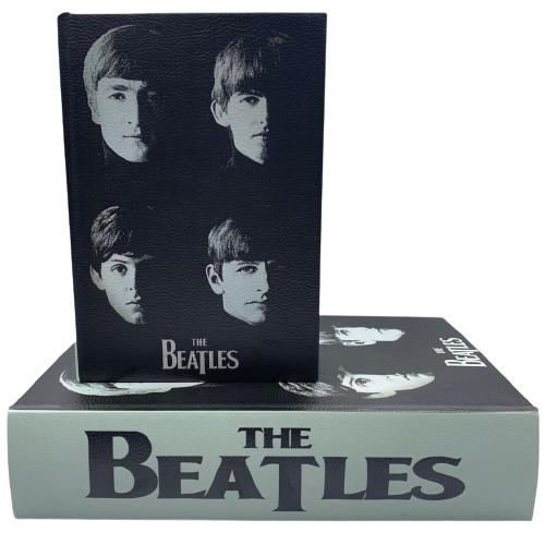 Livro Caixa Decorativo com 2 peças The Beatles