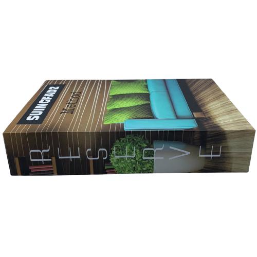 Livro Decorativo de Papel Method