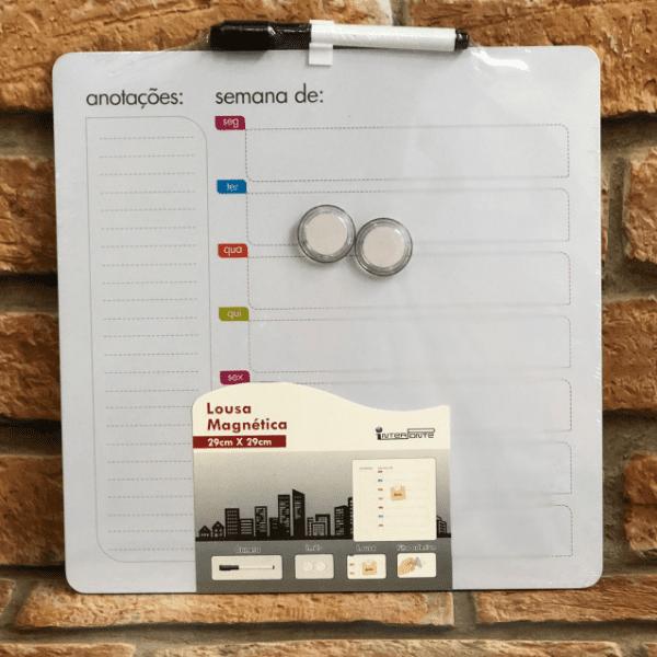 Lousa Magnética de Planejamento Semanal