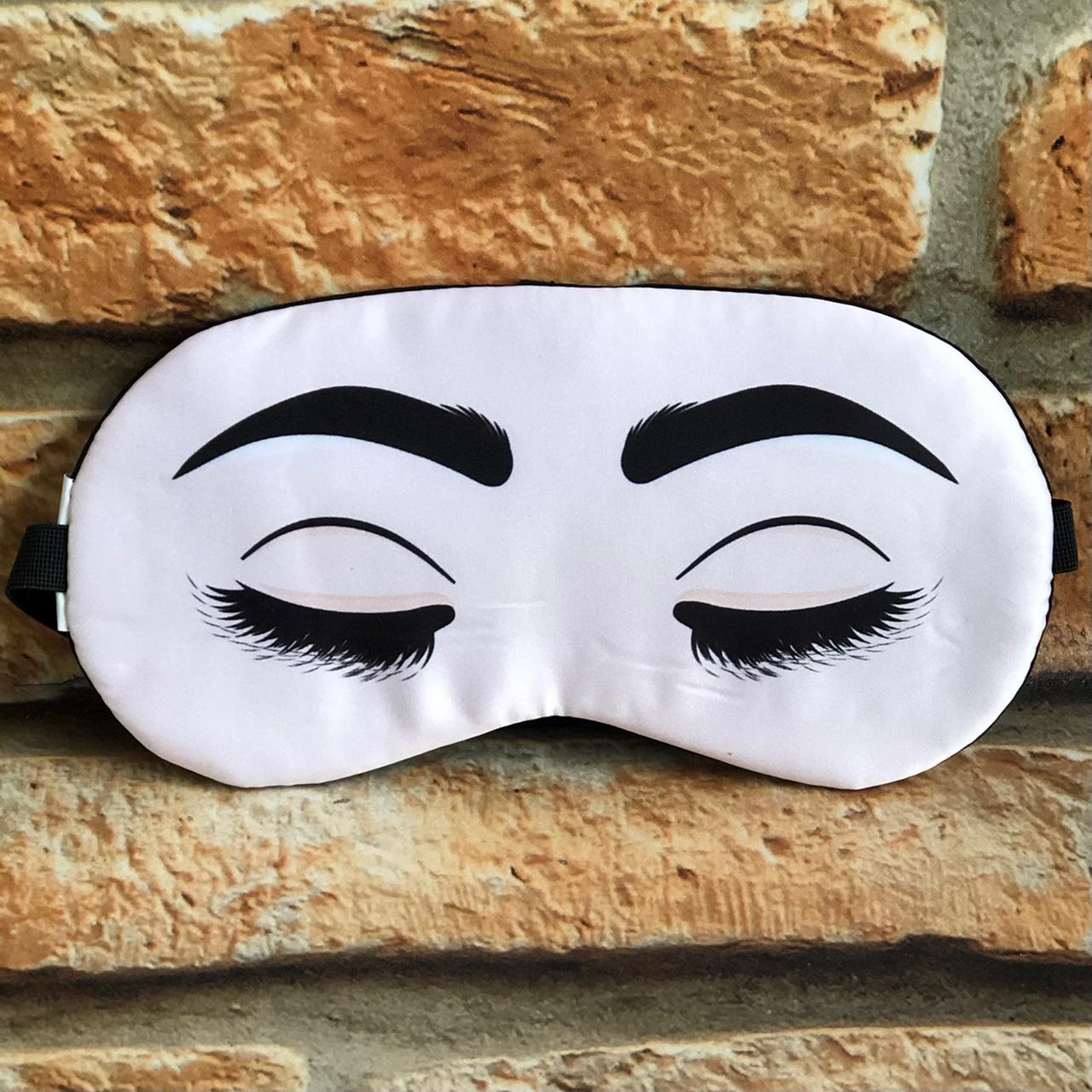 Máscara para Dormir Descanso com Bolsa Gel Divertidas
