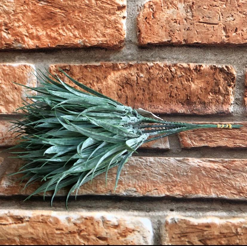 Pick Planta Artificial Capim Verde com 6 Galhos