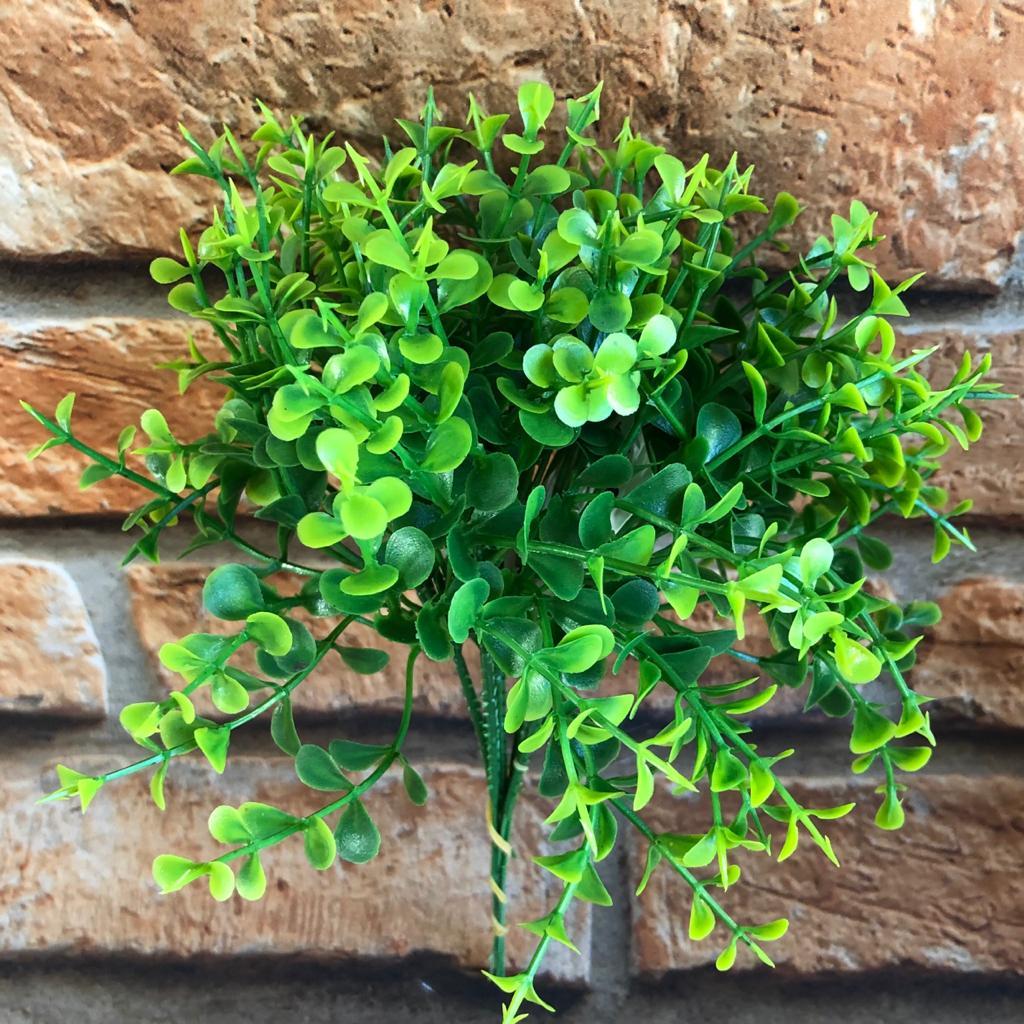 Pick Planta Artificial de Folhas Redondas 6 Galhos