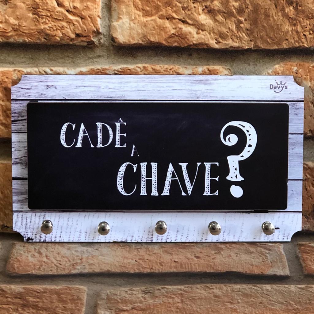 Porta Chaves e Cartas Davys
