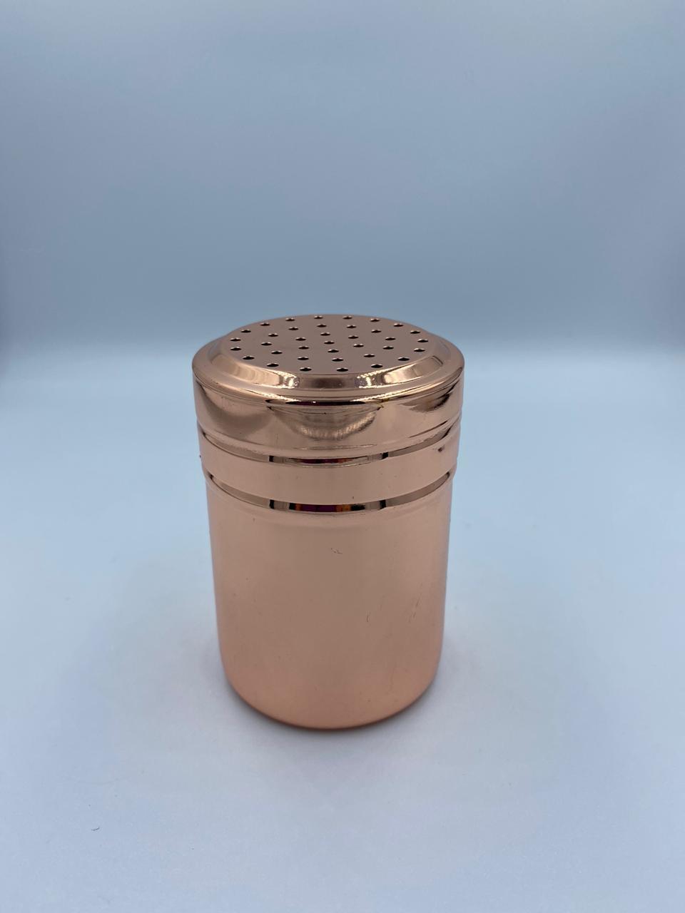 Porta Condimentos Pimenteiro Inox Rose Gold