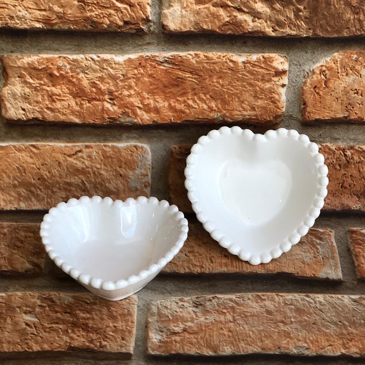 Porta-Jóias de Resina Formato de Coração