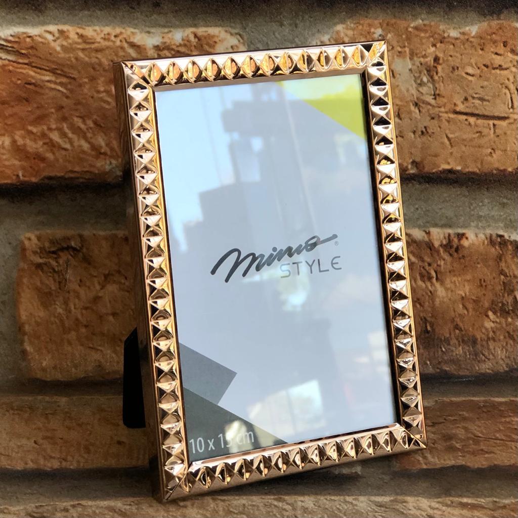 Porta Retrato Diamond Bronze Mimo Stlyle