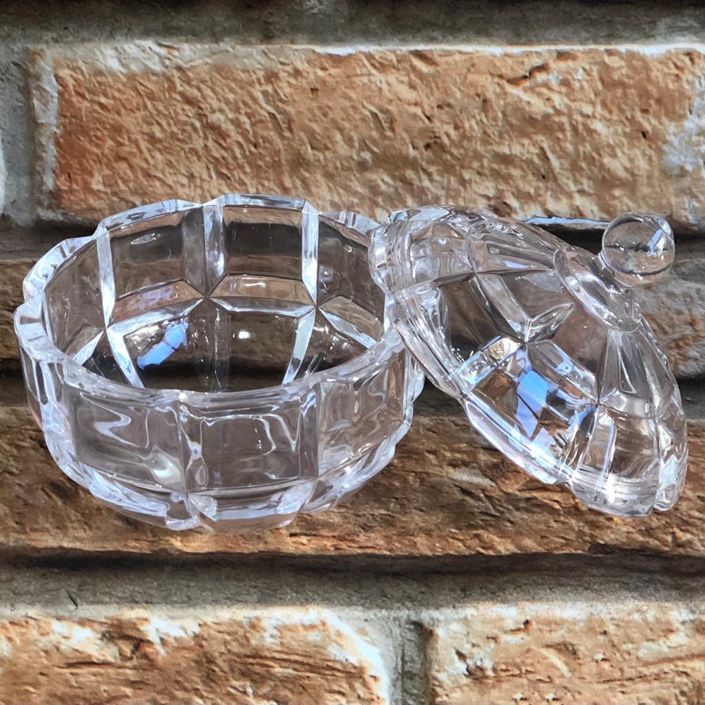 Potiche Bomboniere de Vidro Unik Baixa