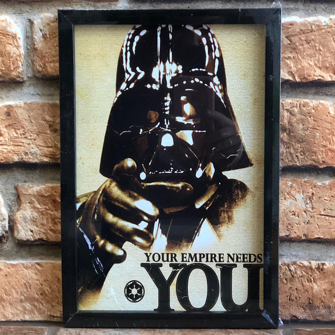 Quadro Decorativo Looks Darth Vader