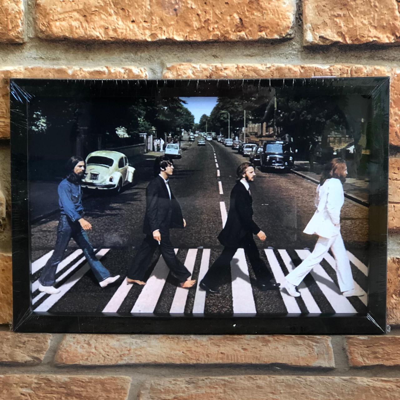 Quadro Decorativo Looks The Beatles