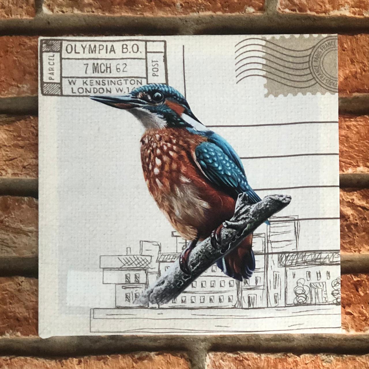 Quadro Decorativo NSW Pássaros
