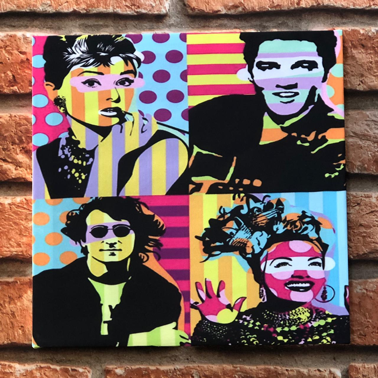 Quadro Decorativo NSW Pop Art