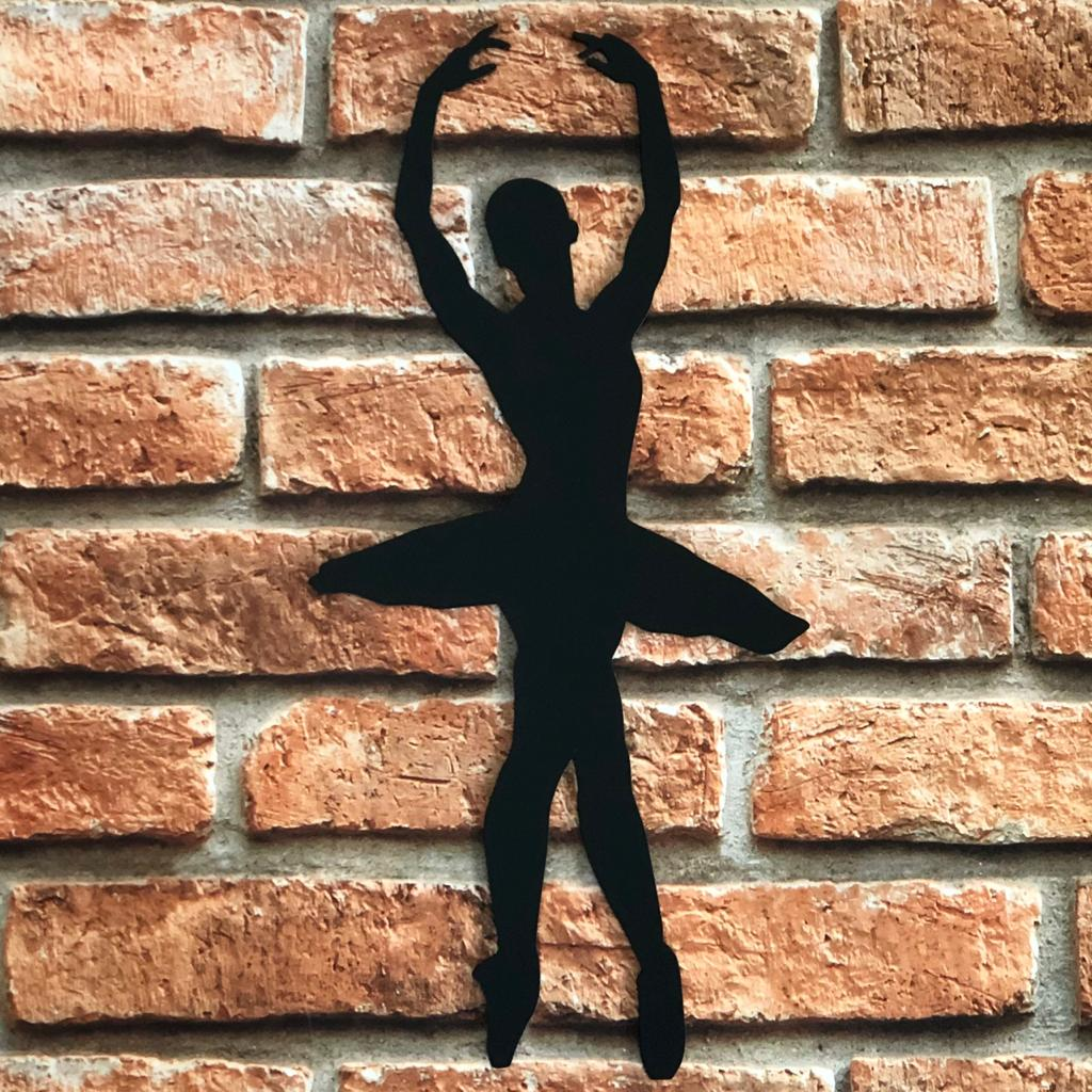 Silhueta Decorativa Bailarina