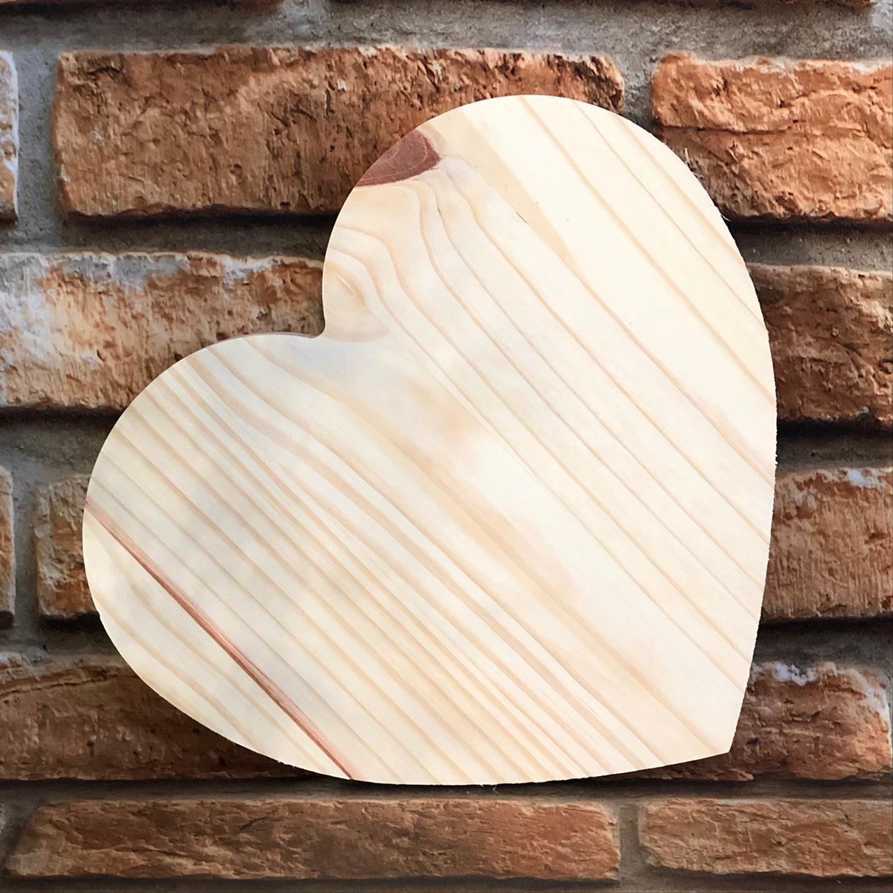Tábua para Corte de Madeira Coração