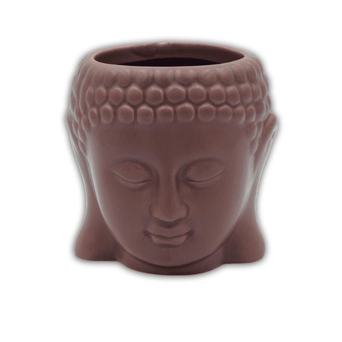 Vaso Cachepot Decorativo Buda Colorido em Cerâmica