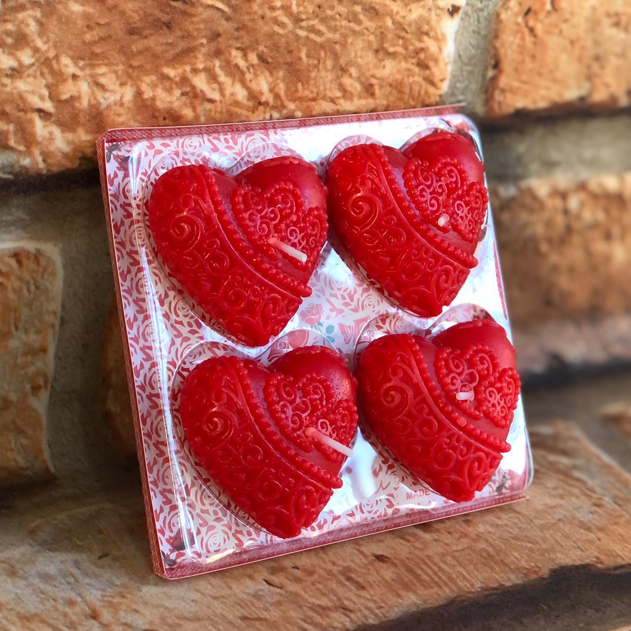 Velas Decorativas Love 4 un