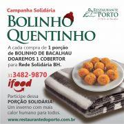 Promoção Bolinho Quetinho, Bolinho de Bacalhau (Porção c/ 10 unidades)