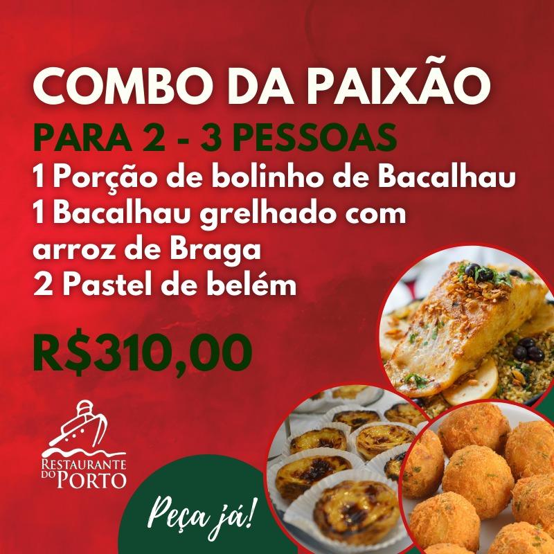 COMBO SEXTA DA PAIXAO