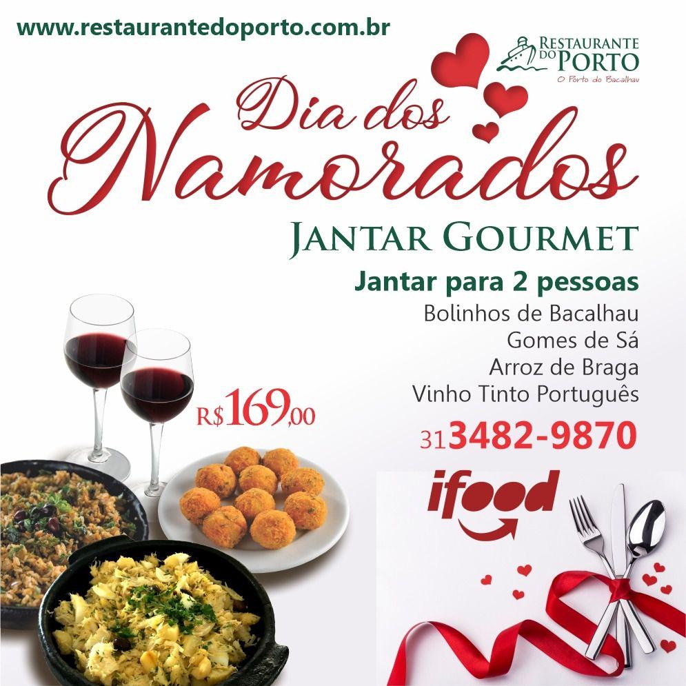 JANTAR GOURMET para 2 pessoas com bolinhos de bacalhau, Bacalhau a Gomes de Sá, Arroz de Braga e Vinho Tinto Português
