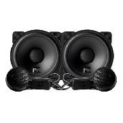 "Kit Componente Duas Vias Nar Audio 4"" PP Serie 1 50 wrms"
