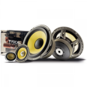 Alto falante Focal Kit 3 Vias 6,5 Pols Elite ES165 KX3 120W