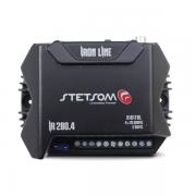 Amplificador Digital Stetsom IR280.4 280W 4 Canais 2 OHMS