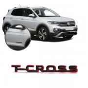Aplique Emblema Logo Traseiro T-Cross