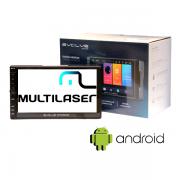 "Central Multimidia 7"" Android Multilaser Evolve Gp349 Com Espelhamento"