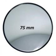 Espelho Auxiliar Olho De Boi Caminhão Furgão Ônibus 75mm