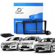 Kit Moldura 2 Din 7 Polegadas e Cabos Originais Expex EKTGM002