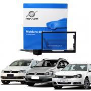 Kit Moldura 2 Din 7 Polegadas e Cabos Originais Expex EKTVW001
